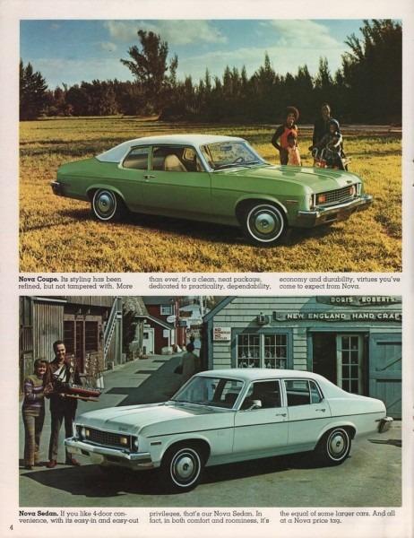1973 Nova Parts And Restoration Information