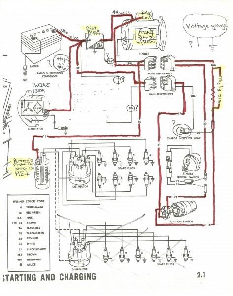 Ford Probe Alternator Wiring Diagram