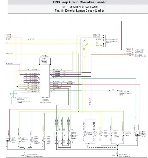 Jeep Cherokee Stereo Wiring Diagram
