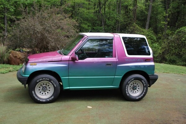I Love The Color   Iridescent  Geotracker  4x4