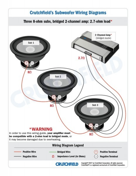 1 Ohm Speaker Wiring Diagram