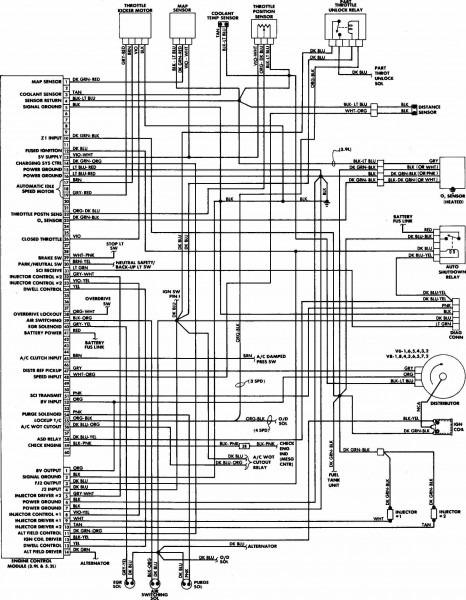 1997 Dodge Dakota Wiring Diagram