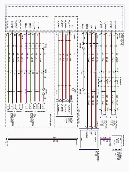 Stereo Wiring Diagram 2002 Explorer