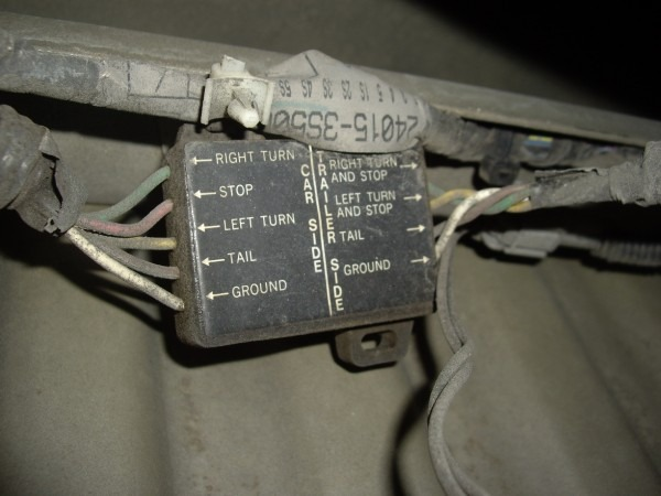 My 06' Nissan Frontier Trailer Wiring Harness Does Not Work  I