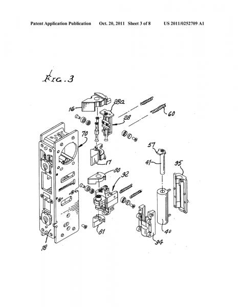 Multiple Access Door Lock Mechanism