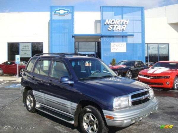 2001 Dark Blue Metallic Chevrolet Tracker Lt Hardtop 4wd  25352550