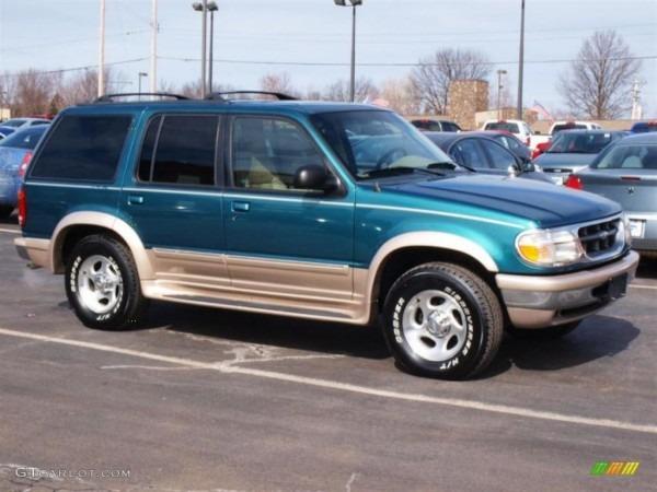 1998 Pacific Green Metallic Ford Explorer Eddie Bauer 4x4