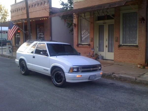 Martin78013 1997 Chevrolet S10 Blazer Specs, Photos, Modification