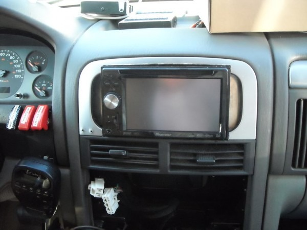 Installing Double Din Nav Unit In Gc
