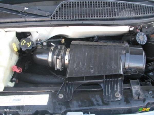 2001 Chevrolet Express 2500 Commercial Van Engine Photos