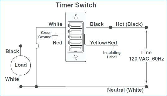 Leviton Timer Switch Wiring Diagram