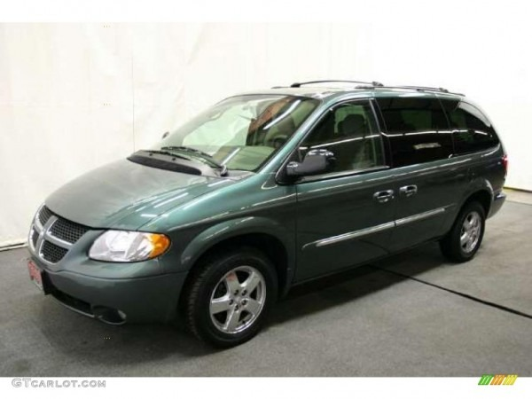 Onyx Green Pearl 2003 Dodge Grand Caravan Es Exterior Photo