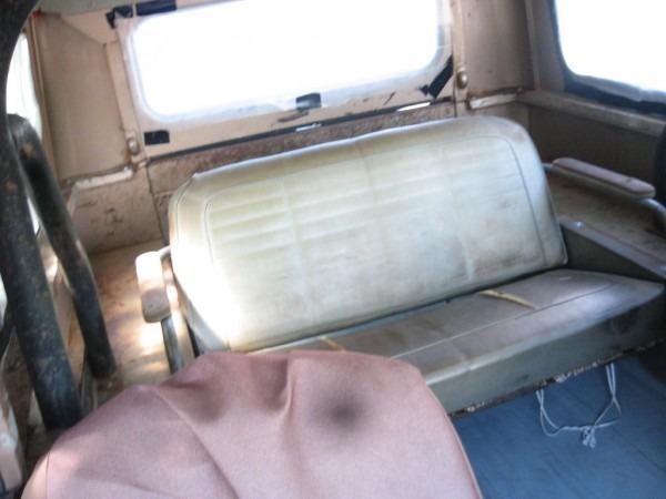 Scout 80 Rear Bench Seat