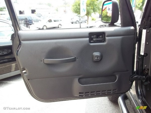 2006 Jeep Wrangler Unlimited Rubicon 4x4 Dark Slate Gray Door