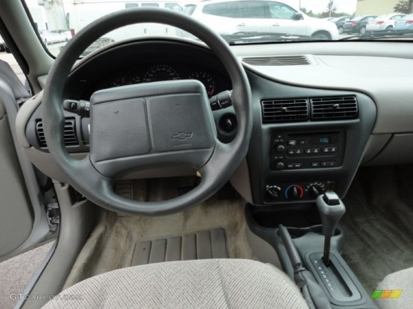 2001 Chevrolet Cavalier Ls Sedan Medium Gray Dashboard Photo