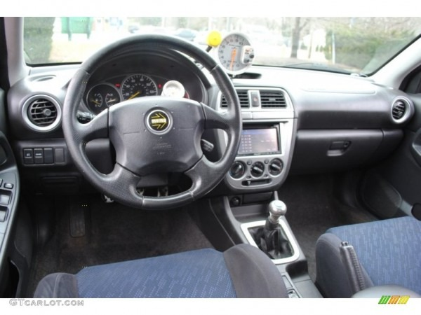 Black Interior 2002 Subaru Impreza Wrx Sedan Photo  59740657