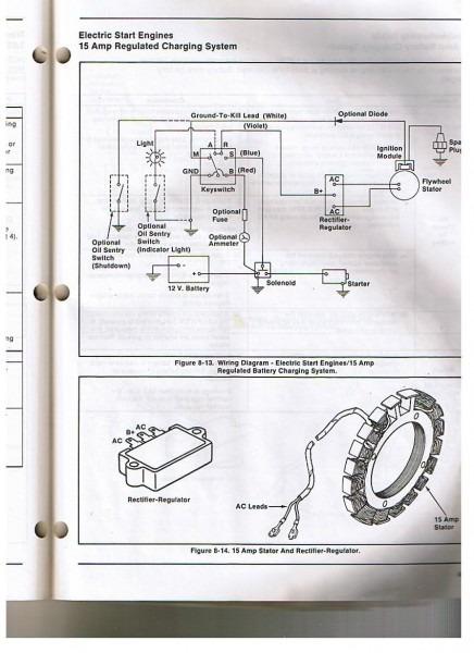 Kohler K321 Charging Sys