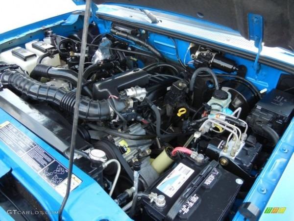 2002 Ford Ranger Engine