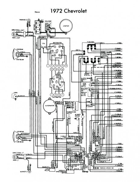 67 Fuse Panel Wiring Diagram Chevy Nova