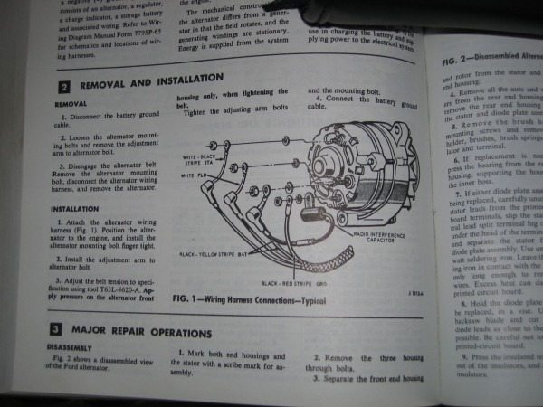 1966 Mustang Alternator Wiring