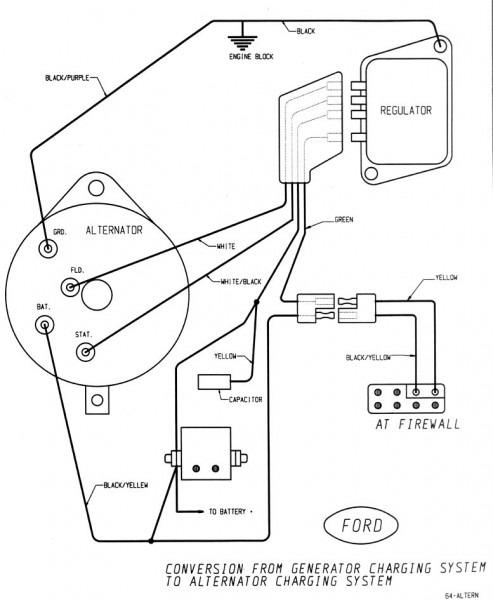 F250 Alternator Wiring