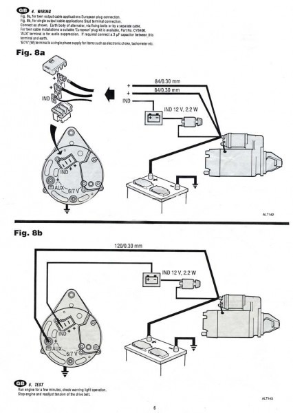 How To Wire A 3 Wire Alternator Diagram