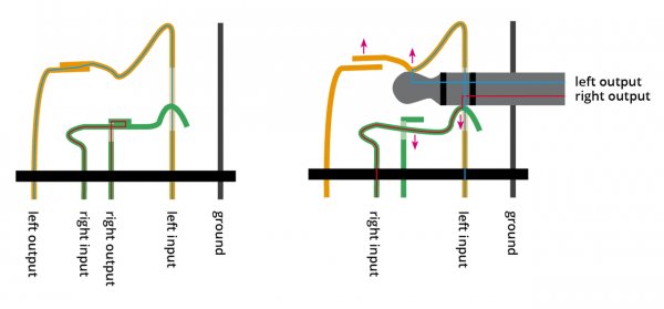 Stereo Headphone Wiring Diagram