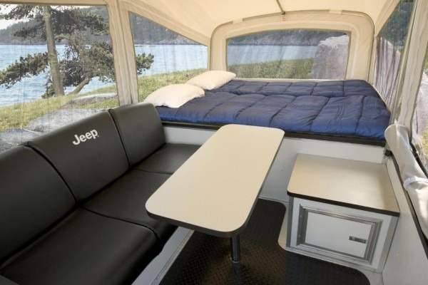 World's Smallest Camping Trailer