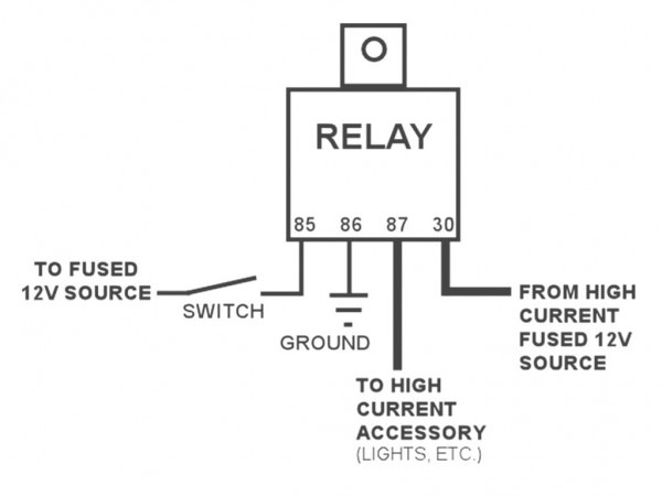 4 Prong Relay Wiring