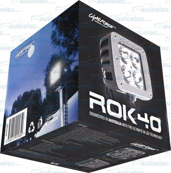 Lightforce Rok 40 Spot Cree Marine Led Work Light Lamp 3200 Lumen