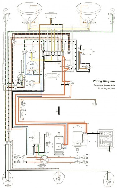 Thesamba Com Type 1 Wiring Diagrams  U2013 Car Wiring Diagram