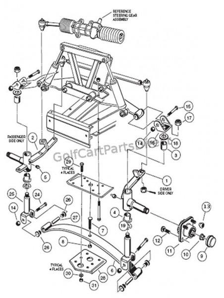 2006 Club Car Parts Diagram