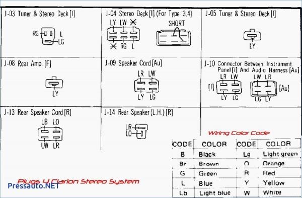 Clarion Amp Wiring Diagram