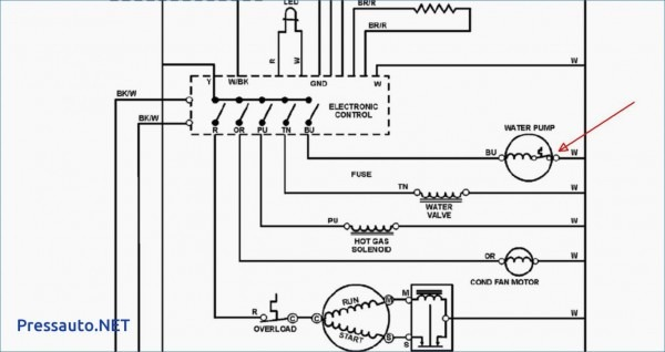 Double Door Refrigerator Wiring Diagram