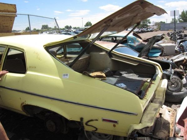Junkyard Find  1973 Chevrolet Nova Hatchback