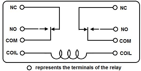 12v Spdt Relay Diagram