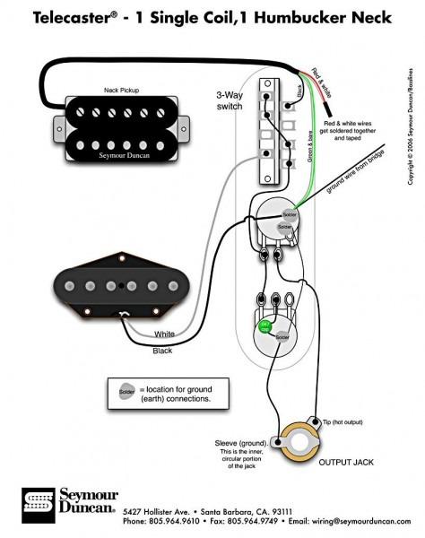 Tele Wiring Diagram