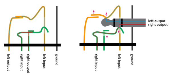 Stereo Headphone Plug Wiring Diagram