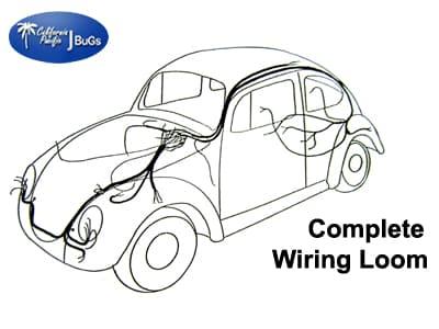 Vw Bug Wiring Harness Kit