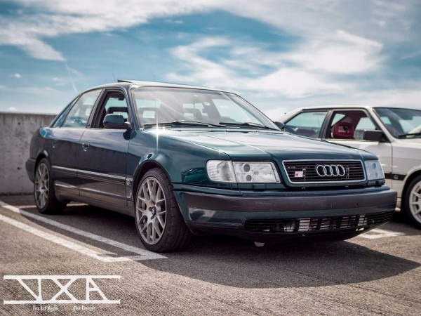 Zachary Shaman's 1994 Audi S4 On Wheelwell