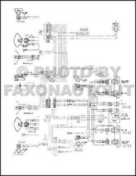 1970 chevy truck wiring diagram