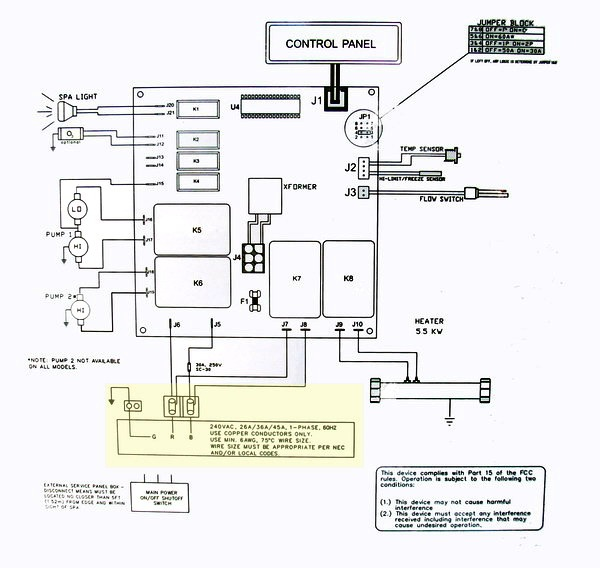 Coast Spa Wiring Diagram