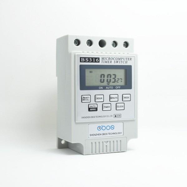 Cn101a Ac 220v 230v 240v Digital Lcd Power Timer Weekly 7days