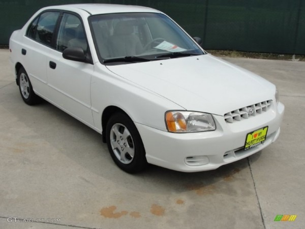 2001 Hyundai Accent Ii Sedan – Pictures, Information And Specs