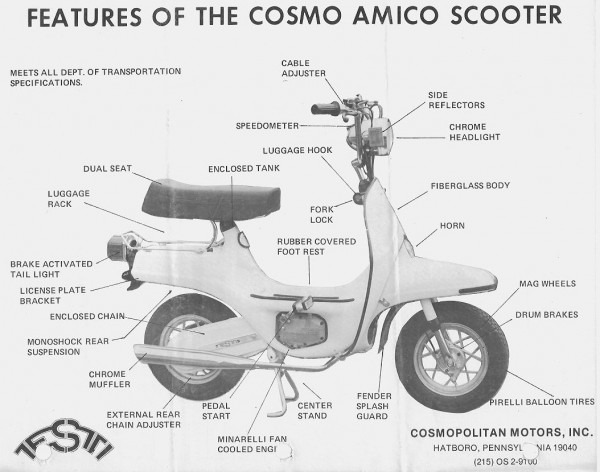 Cosmo Parts Â« Myrons Mopeds