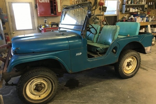 Jeep Cj5 Original Find With 15,643 Miles!