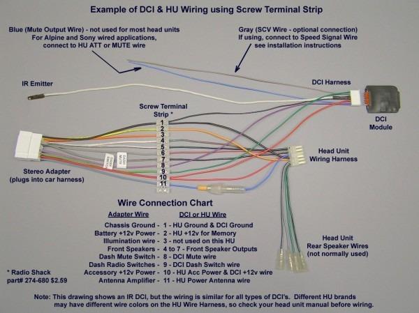 Jvc Car Stereo Wiring Diagram