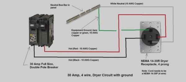 240v Dryer Plug Wiring Diagram