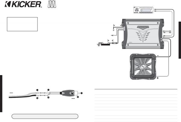 Kicker Bass Station Wiring Diagram