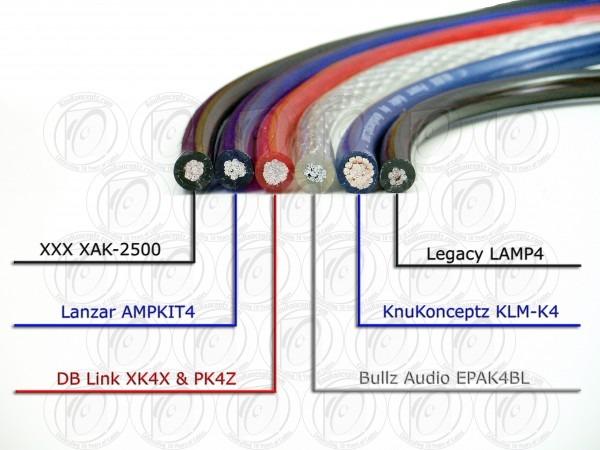 Knukonceptz Kca 4 Gauge Amp Kit For Jl Audio 500 1